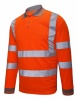Hi-Vis Long Sleeve Polo