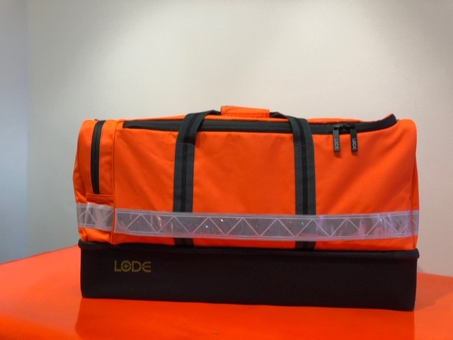 Hi-Vis Orange Hard-base Holdall (Rail Spec)