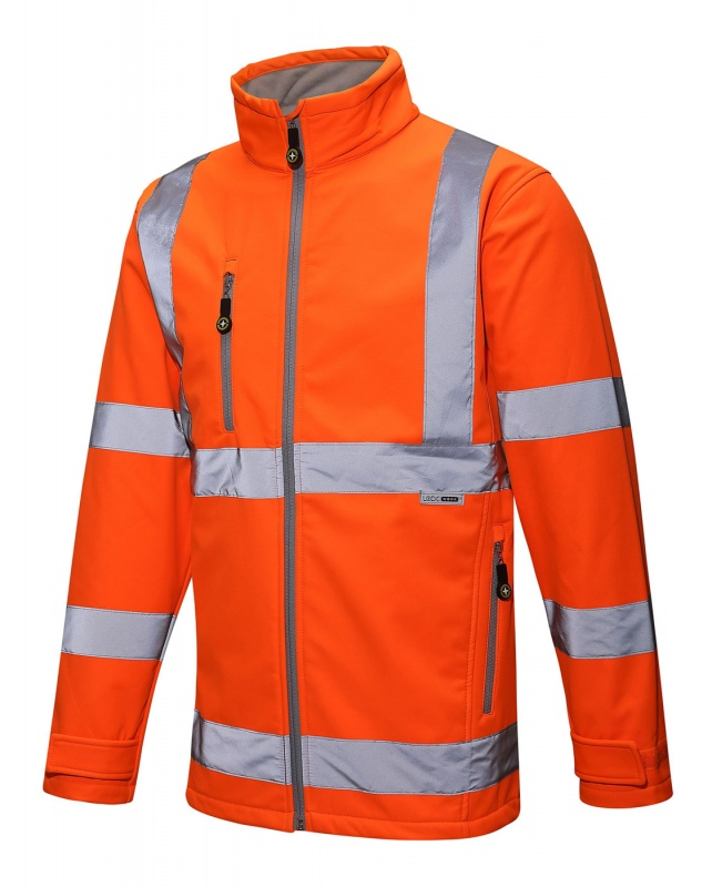 Hi-Vis Soft Shell Jacket