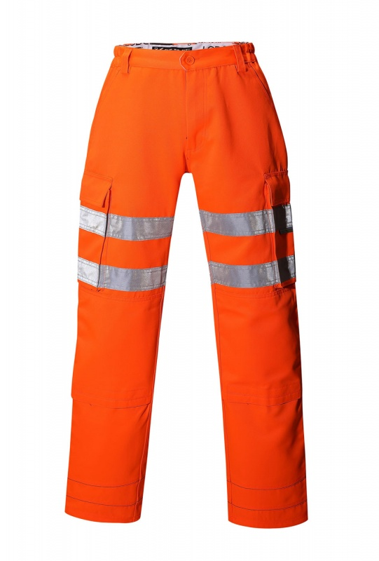Hi-Vis Cut-To-Fit Cargo Trousers
