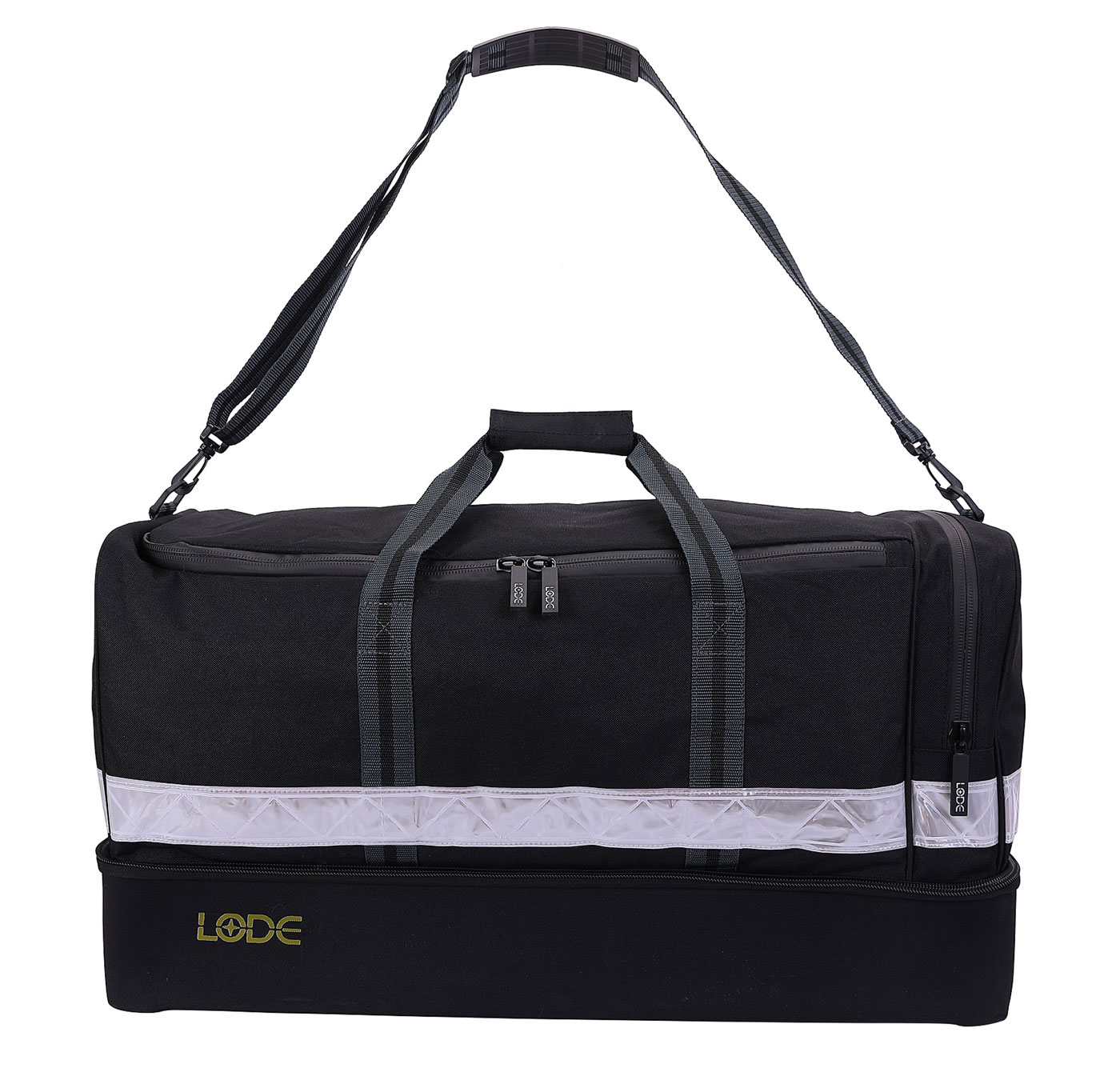 Hard-Base Black Holdall
