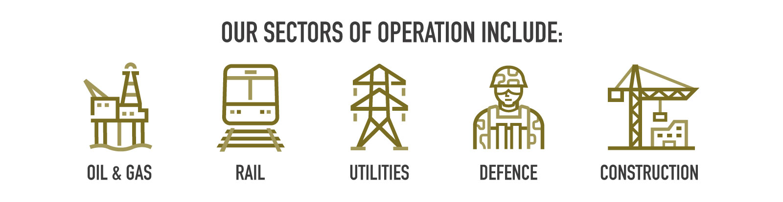 Lode Industry Sectors: Oil & Gas, Rail, Utilities, Defence, Construction
